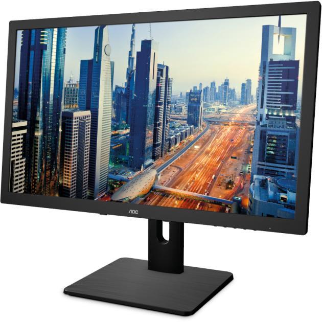 "Монитор AOC I2375PQU 23"", Черный, DVI, HDMI, DP, Full HD  недорого"