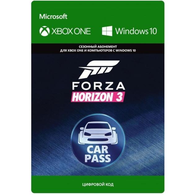 Видеоигра Microsoft Forza Horizon 3 Car Pass зеленоград microsoft 3 0