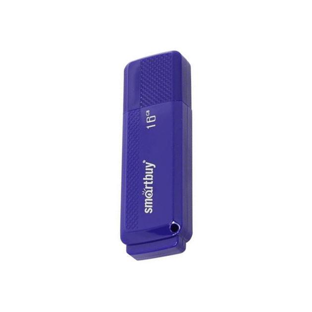 Флешка Smartbuy Smart Buy Dock 16Гб, Голубой, пластик, USB 2.0 smartbuy smartbuy usb для apple ik 512 голубой ik 512c