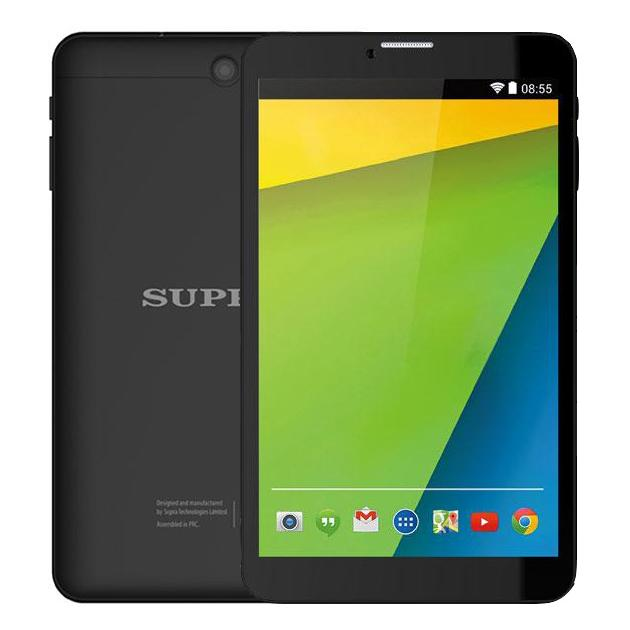 Supra M84EG Wi-Fi и 3G, Черный, Wi-Fi, 16Гб