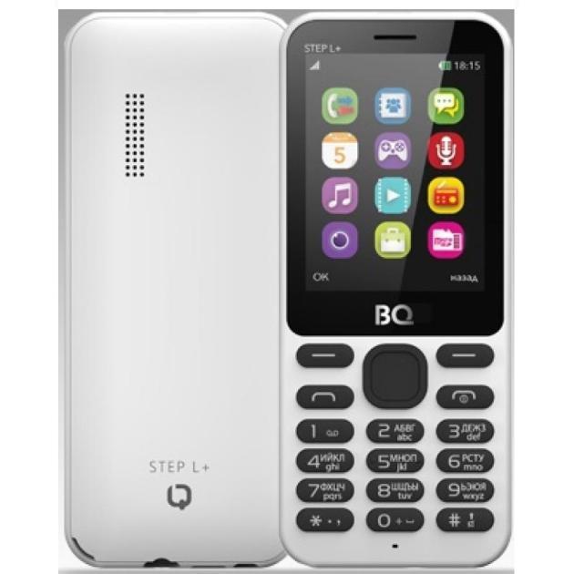 все цены на  Мобильный телефон BQ-Mobile BQ-2431 Step L+ Белый  онлайн