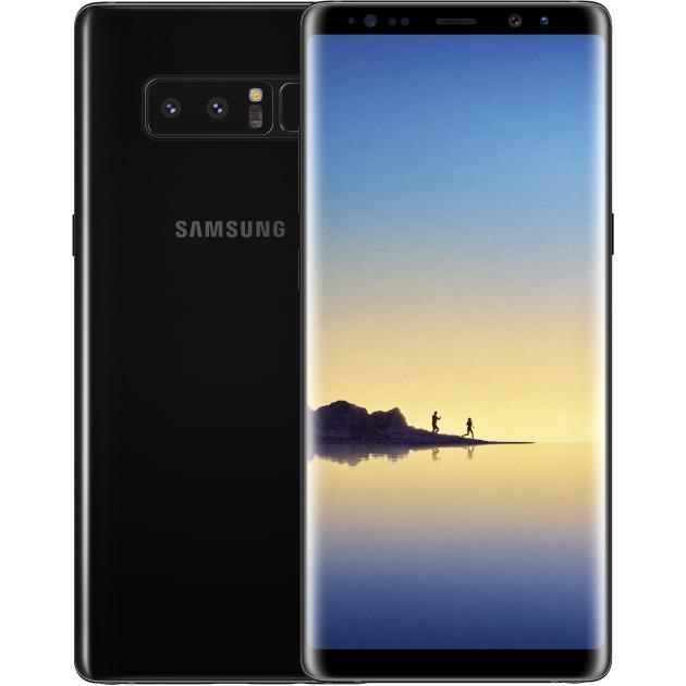 Смартфон Samsung Galaxy Note 8 Черный samsung galaxy note 10 1 3g 32 евротест