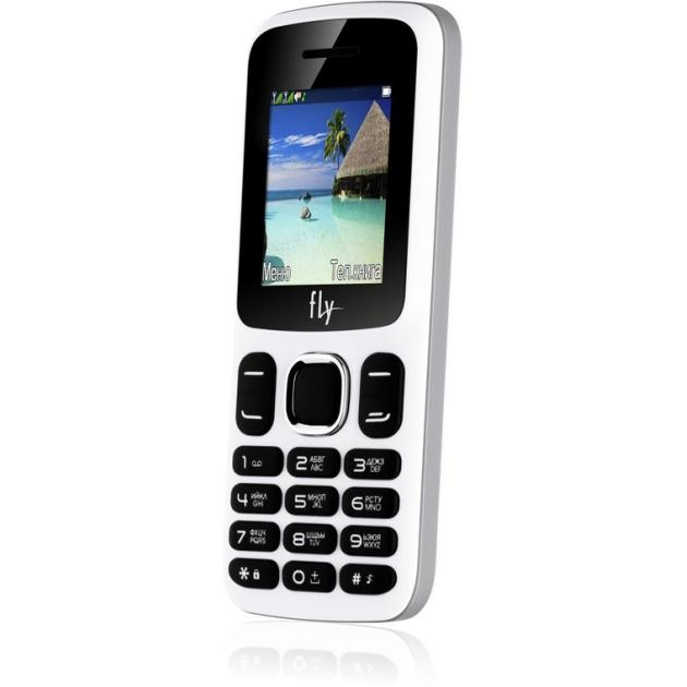 Мобильный телефон Fly FF180 Белый мобильный телефон fly ff178 32mb black