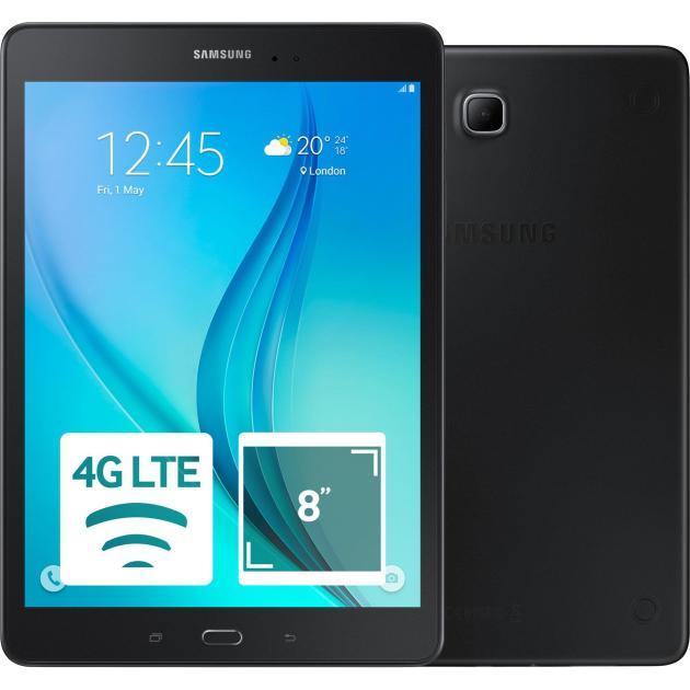 Планшет Samsung Galaxy Tab A 8.0 SM-T355 Wi-Fi и 3G/ LTE, Черный, 16Гб samsung galaxy tab a sm t550 16gb wi fi black