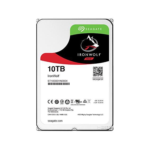 Жесткий диск Seagate ST10000VN0004 10000Гб, 600, 3.5 HDD
