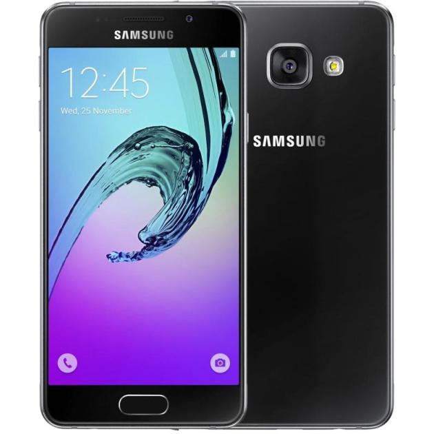Смартфон Samsung Galaxy A5 2016 SM-A510F Черный мобильный телефон samsung galaxy a5 2016 16 gb sm a 510 f розовый