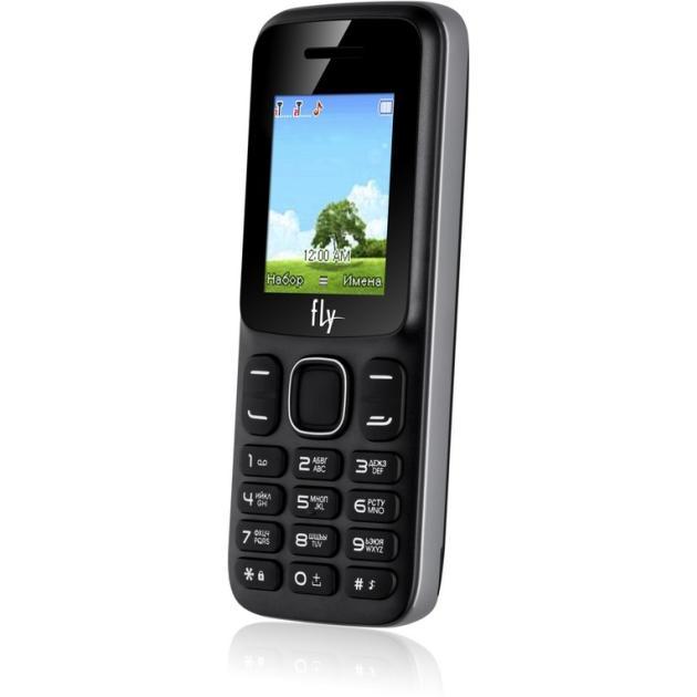 Мобильный телефон Fly FF181 Черный мобильный телефон fly ff178 32mb black