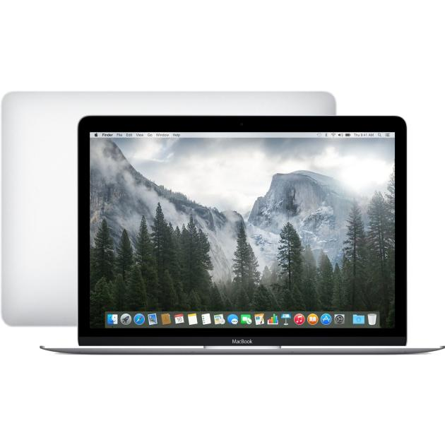 "Apple MacBook MF865RUA 12"", Intel Core M, 1200МГц, 8Гб RAM, DVD нет, 512Гб, Серебристый, Wi-Fi, MacOS X, Bluetooth"