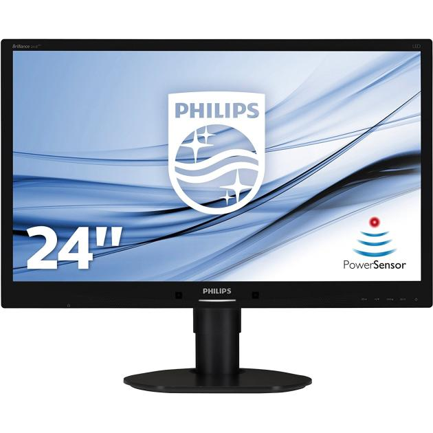 "Philips 241B4LPYCB 24"", Черный, DVI, Full HD"