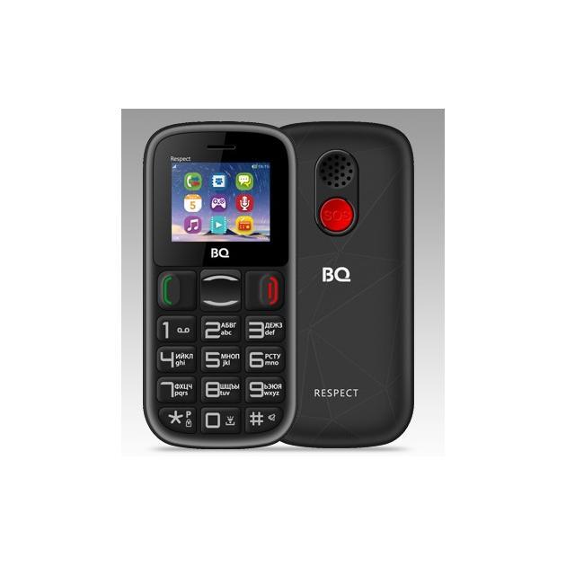 Мобильный телефон BQ-Mobile BQ BQ-1800 Respect черно-красный телефон нокиа черно белый в кривом роге