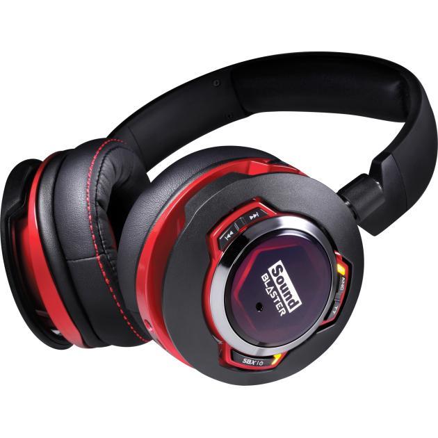 Наушники Creative Sound Blaster EVO Wireless Черный/Красный стоимость