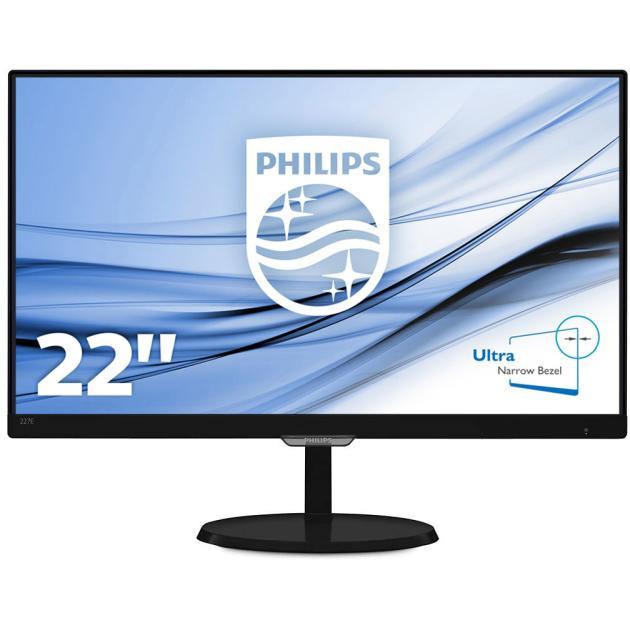 "Philips 227E7QDSB 21,5"", Черный, DVI, HDMI, Full HD"