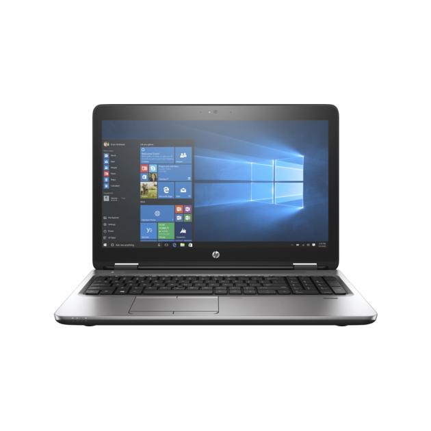 Ноутбук HP ProBook 650 G3 15.6, Intel Core i3, 2400МГц, 14Гб RAM, 500Гб, Темно-серый, Windows 10 Pro