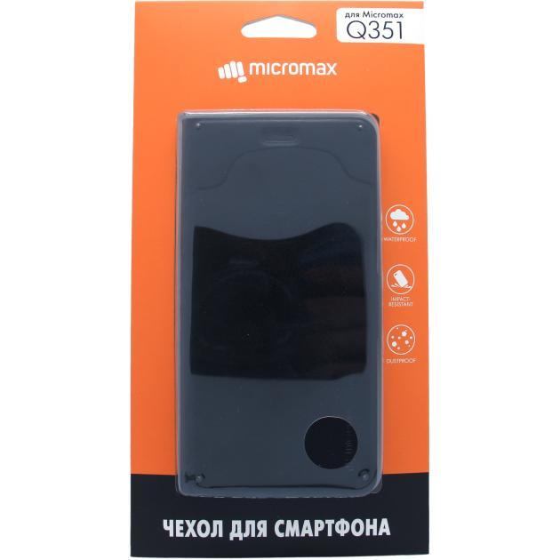 Чехол-книжка Micromax Q351 Черный