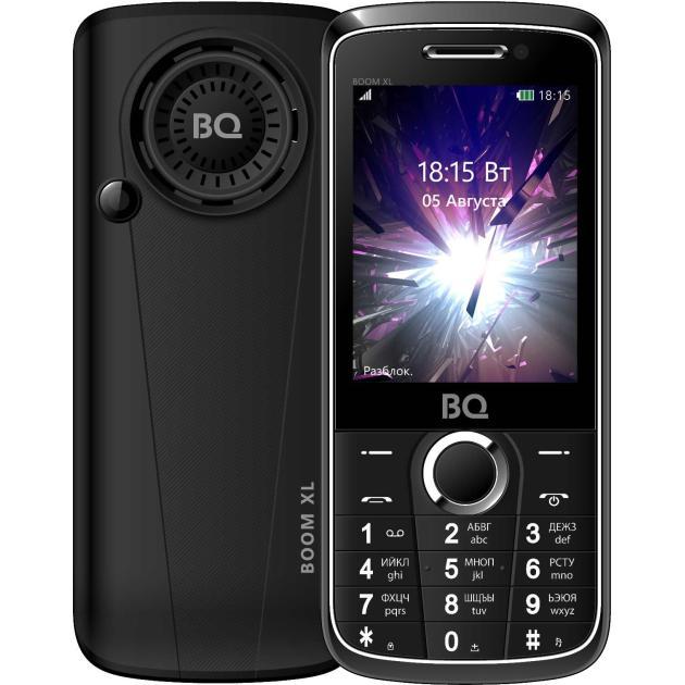 все цены на  Мобильный телефон BQ-Mobile BQ 2805 BOOM XL Черный  онлайн