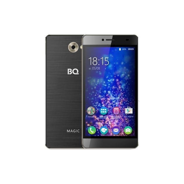 Смартфон BQ-Mobile BQ BQS-5070 Magic Черный/золотой  цена