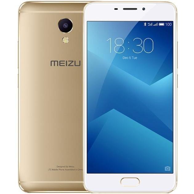Смартфон Meizu M5 Note 16Гб, Золотой смартфоны meizu смартфон meizu m5 note 16gb m621h 16 gowh золотой