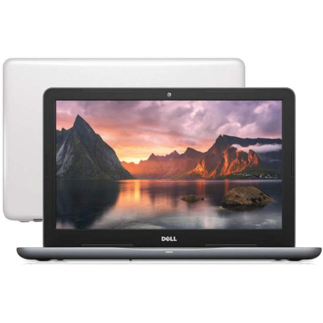 "Dell Inspiron 5565-0583 15.6"", AMD A6, 2000МГц, 4Гб RAM, DVD-RW, 500Гб, Белый, Wi-Fi, Linux, Bluetooth"