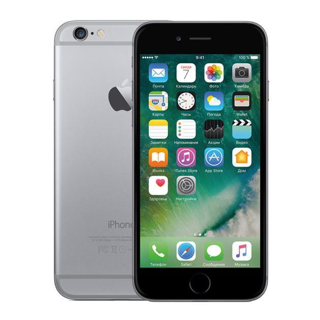 Смартфон Apple iPhone 6 Как новый Серый космос, 64Гб стоимость