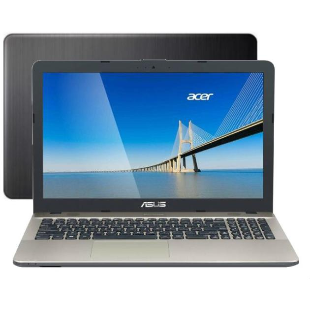 "Asus X541SA-XX119D 15.6"", Intel Celeron, 1600МГц, 2Гб RAM, DVD нет, 500Гб, Черный, Wi-Fi, DOS, Bluetooth"
