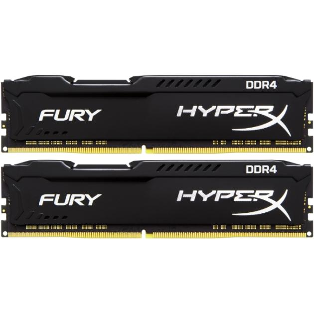 Оперативная память Kingston HyperX Fury HX426C16FBK2/32 kingston technology kingston hyperx fury hx318c10f 16 гб 2 модуля белый