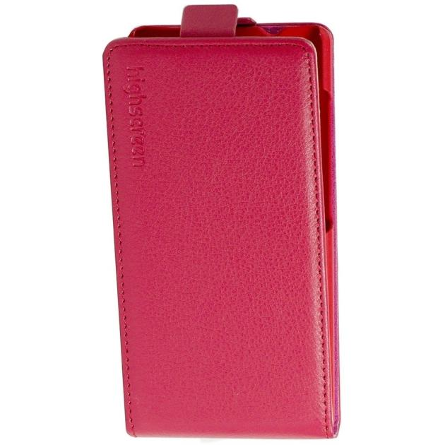 Оригинальный флип-чехол Flip Case для Highscreen Verge Красный