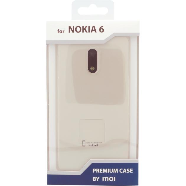 Inoi для Nokia 6 силиконовый Прозрачный