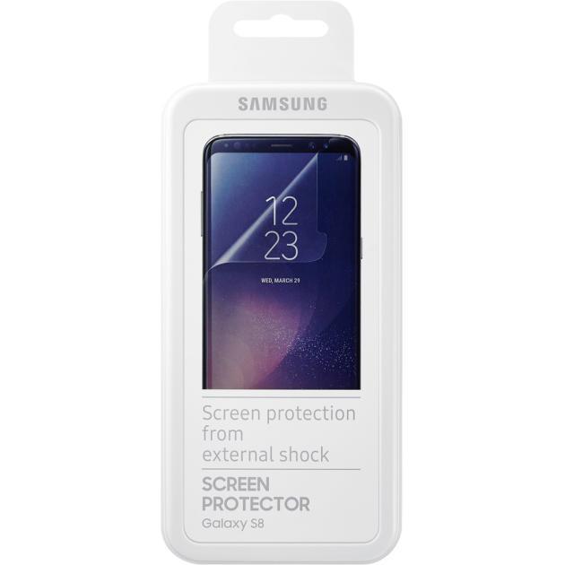 Пленка на экран Samsung Защитная плёнка Samsung ET-FG950CTEGRU для Galaxy S8