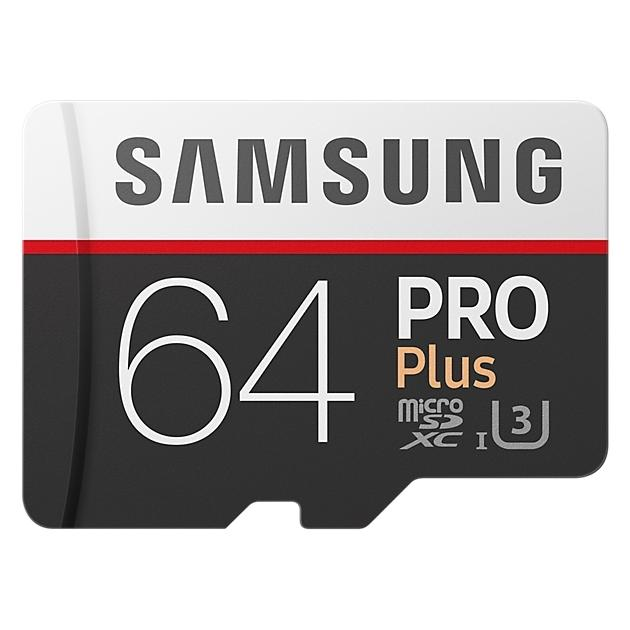 Samsung microSDXC PRO Plus 95MB/s + SD adapter