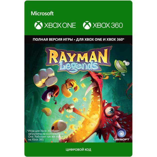 Видеоигра Ubisoft Rayman Legends Xbox One, Xbox 360, цифровой ключ  ubisoft rayman legends sony playstation 3