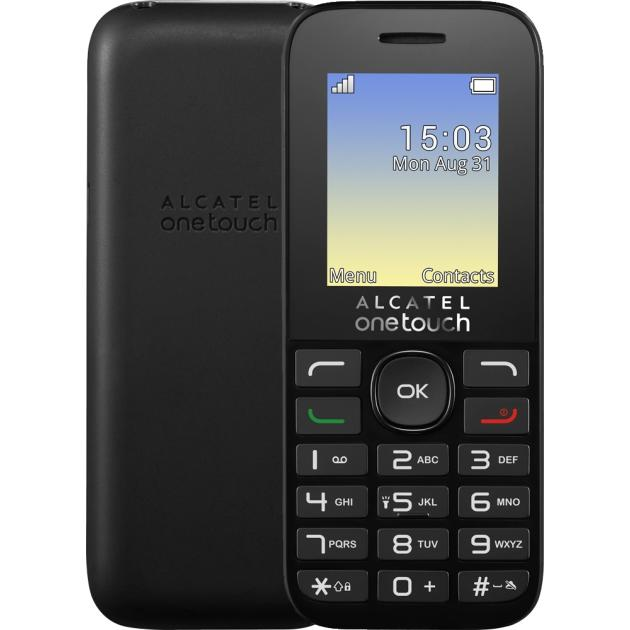 Alcatel One Touch 1020D Черный