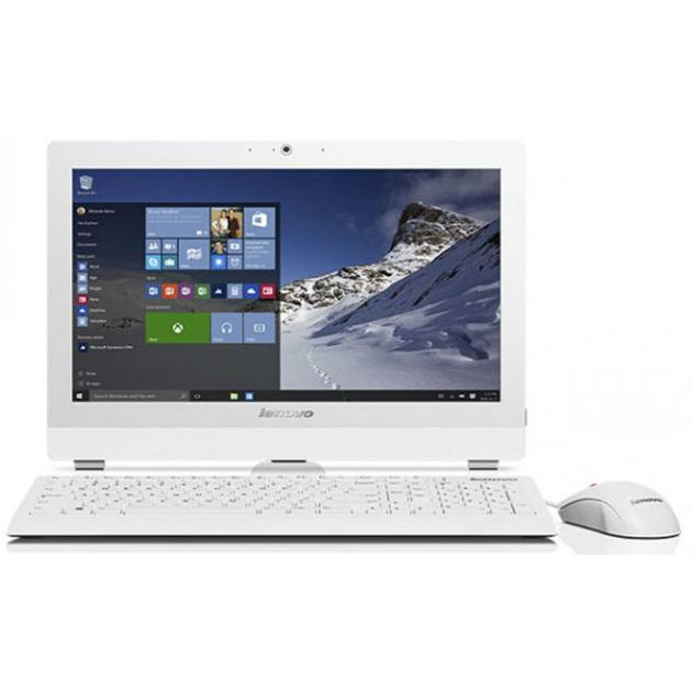 Lenovo S200z нет, Белый, 4Гб, 1000Гб, Windows, DVDRW, Intel Pentium