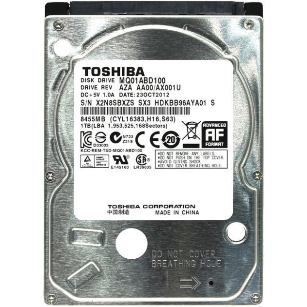 """Toshiba MQ01ABD100 1000Гб, 2.5"""" HDD"""
