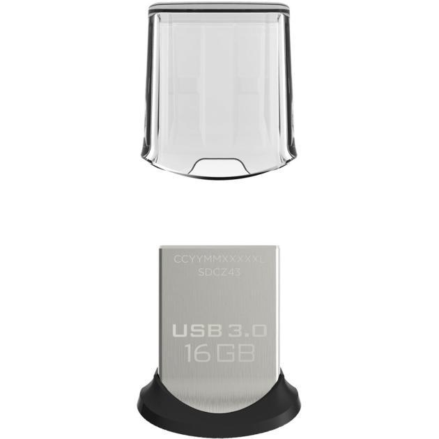 Флешка Sandisk Ultra Fit SDCZ43-016G-GAM46 sandisk ultra sdsdquan 200g g4a