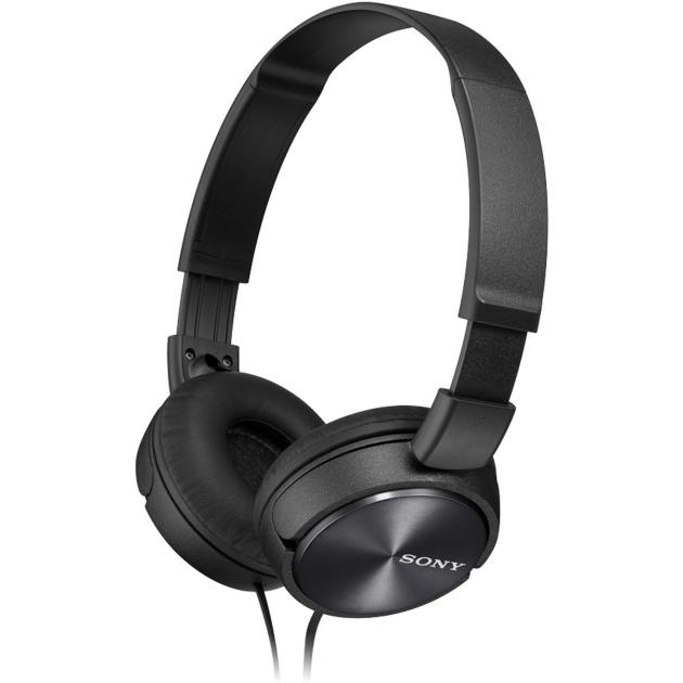 Наушники Sony MDR-ZX310AP Черный наушники с микрофоном sony mdr zx310ap black