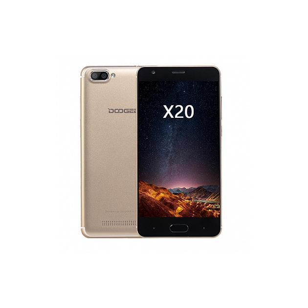 Смартфон DOOGEE Смартфон Doogee X20L Золотой смартфон
