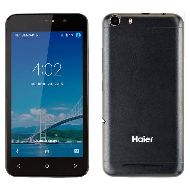 Haier Terra T52P 8Гб, Серый, Dual SIM, 3G