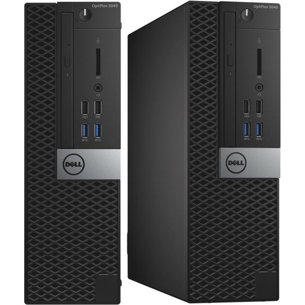 Системный блок Dell OptiPlex 5040-0033 SFF, Intel Core i7, 3400МГц, 8Гб RAM, 500Гб, Win 10 компьютер dell optiplex 5050 intel core i3 7100t ddr4 4гб 128гб ssd intel hd graphics 630 linux черный [5050 8208]