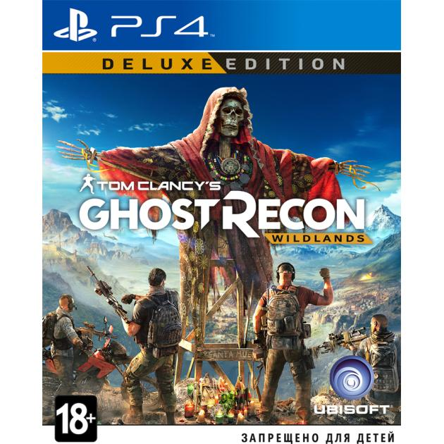 Видеоигра Ubisoft Tom Clancy's Ghost Recon: Wildlands. Deluxe Edition Sony PlayStation 4