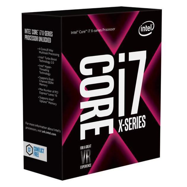 Intel Core I7-7800X Box 6 ядер, 3500МГц, Box