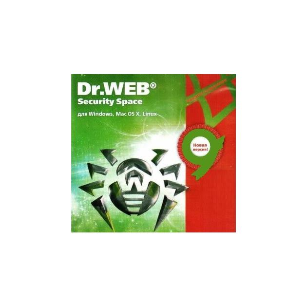 Dr.Web Security Space, КЗ Электронная версия, 3, +3 месяца в подарок