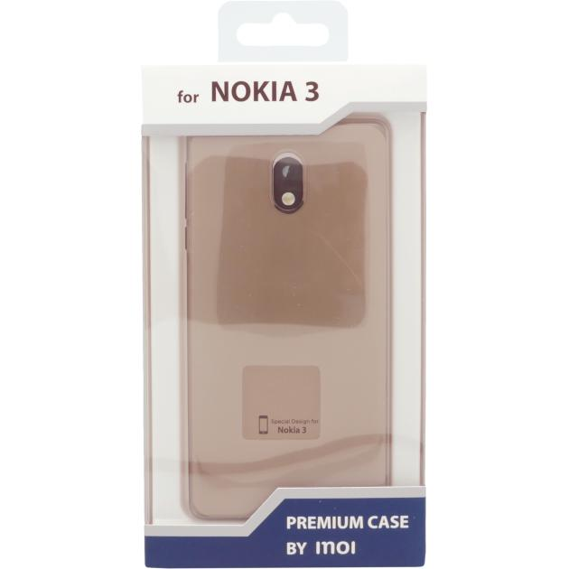 Inoi для Nokia 3 силиконовый серый