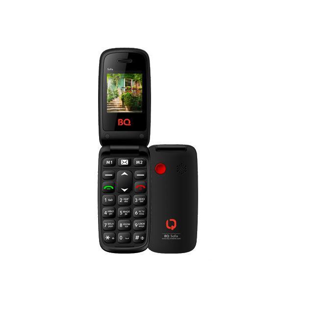 Мобильный телефон BQ-Mobile BQ BQM-2001 Sofia Черный bq bq bqm 2802 kyoto черный 0 032гб 2 sim