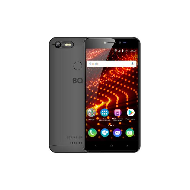 все цены на  Смартфон BQ-Mobile BQ Mobile BQ-5204 Strike Selfie Черный  онлайн
