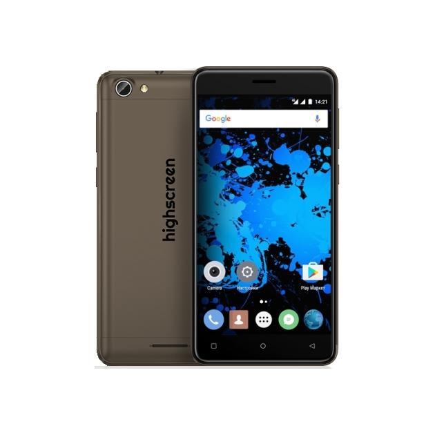 Смартфон Highscreen Power Rage Evo Коричневый смартфон micromax bolt q346 lite 3g 8gb blue