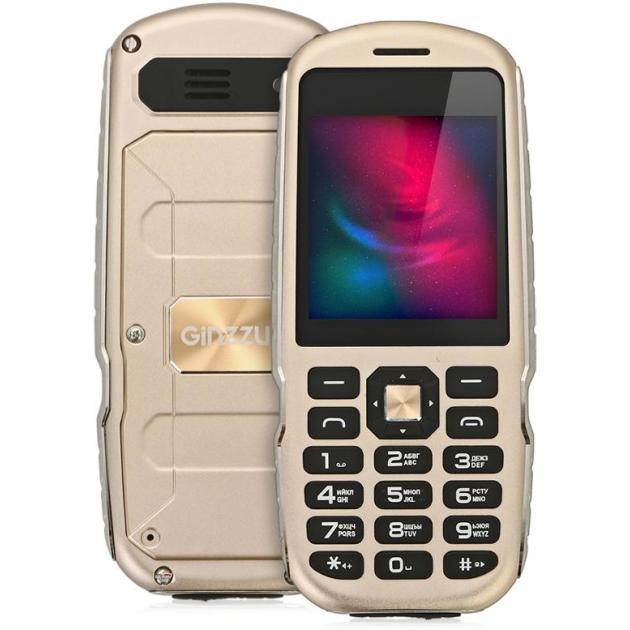 Мобильный телефон Ginzzu R1D Золотой мобильный телефон ginzzu r1d золотой