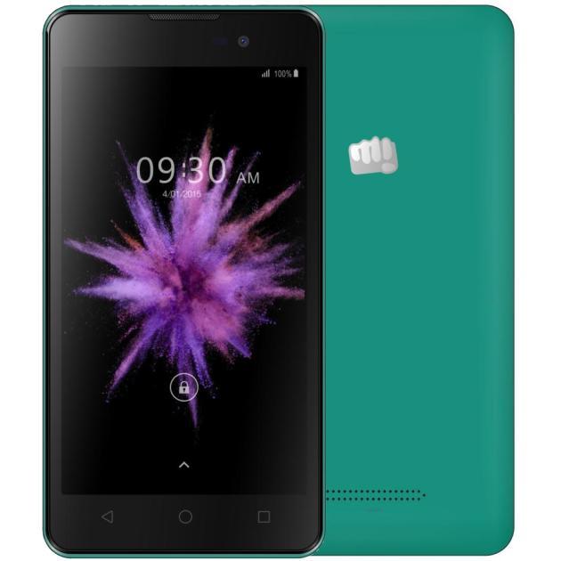 Смартфон Micromax Q334 Canvas Magnus Зеленый аксессуар чехол накладка micromax canvas viva a106 activ silicone black mat 46857