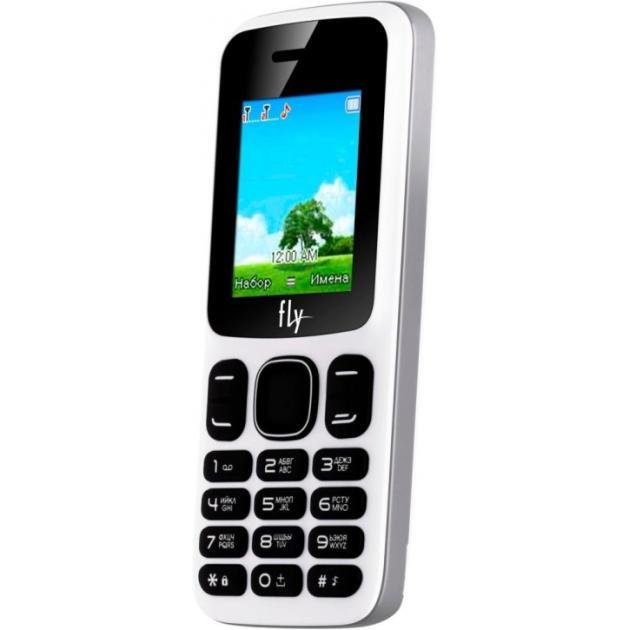 Мобильный телефон Fly FF181 Белый, 0.032Гб, 2 SIM
