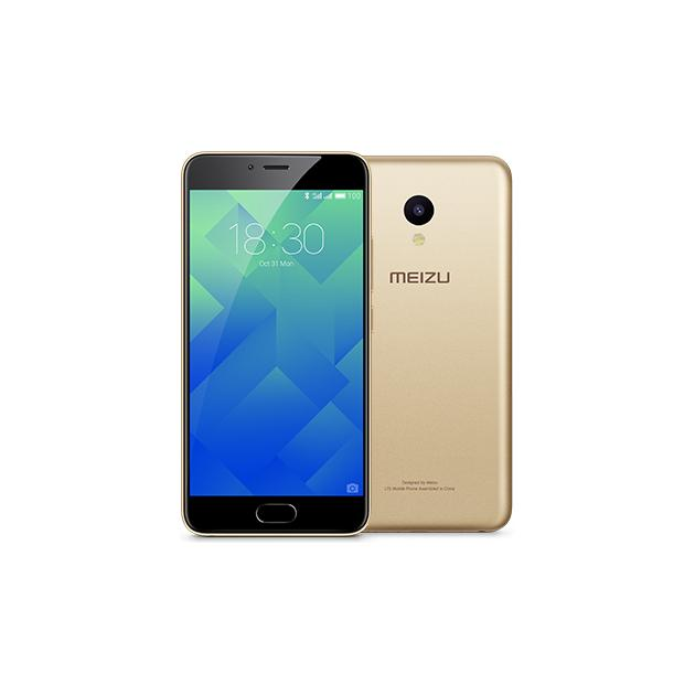 Смартфон Meizu M5 32Гб, Золотой meizu m6 note 3гб 32гб шампанско золотой смартфон