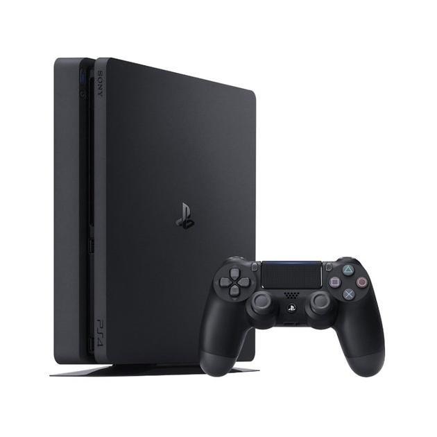 Sony PlayStation 4 Slim Черный
